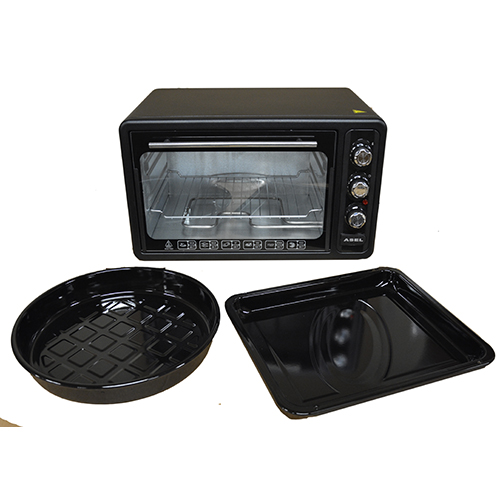 40l Mini Electric Oven Grill Counter Top Steel Heating