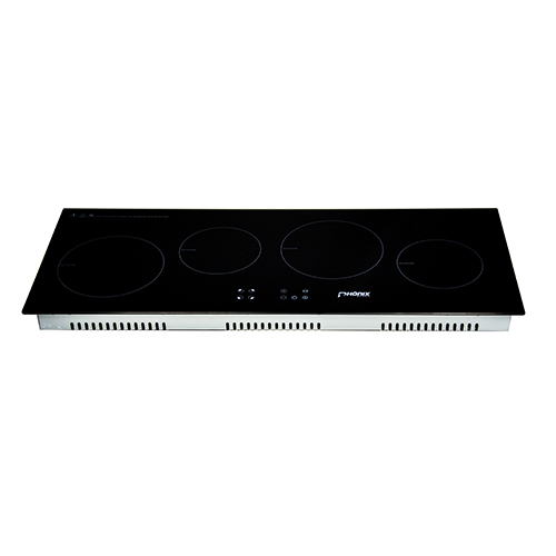 ... Built In Induction Hob 90cm Electric Cooktop Ceramic Glass Sensor Touch  Control ...