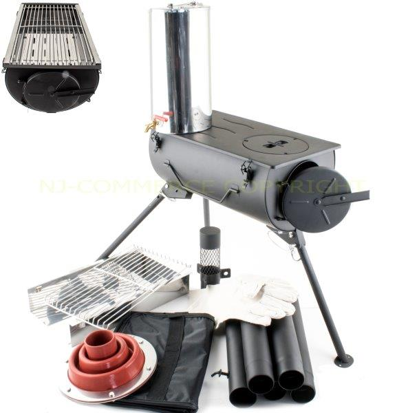 Frontier wood stove grill ... - Frontier Wood Burning Stove Grill BBQ Portable Cooker Heater
